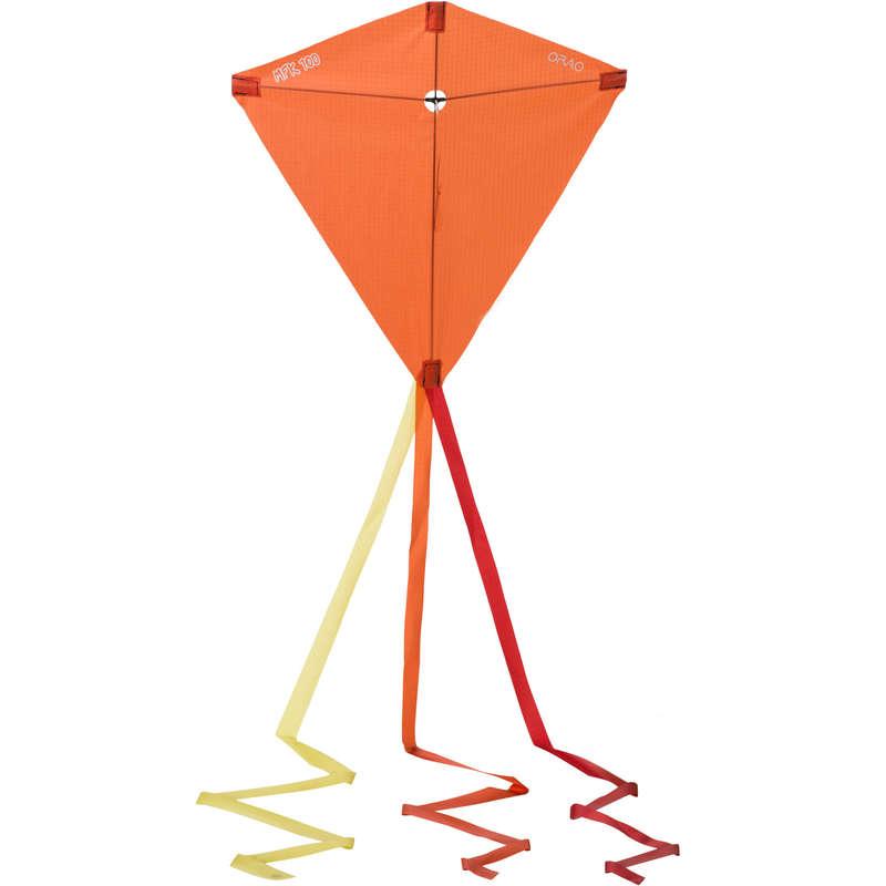 STUNT KITE & ACCESSORIES Kiting - MFK 100 Kite - Orange ORAO - Sports