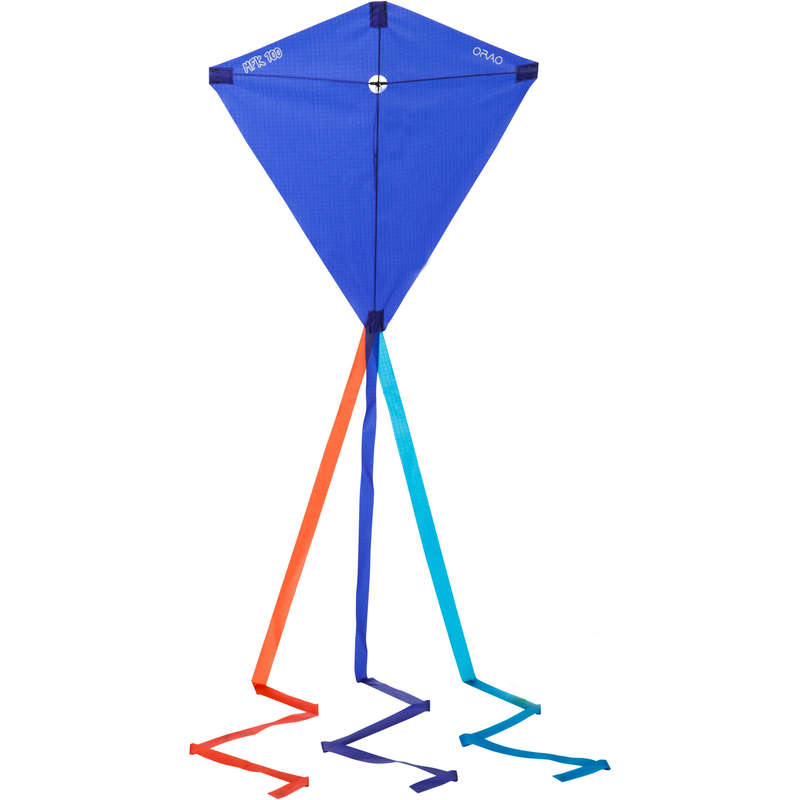 STUNT KITE & ACCESSORIES Kiting - MFK 100 Kite - Dark Blue ORAO - Sports