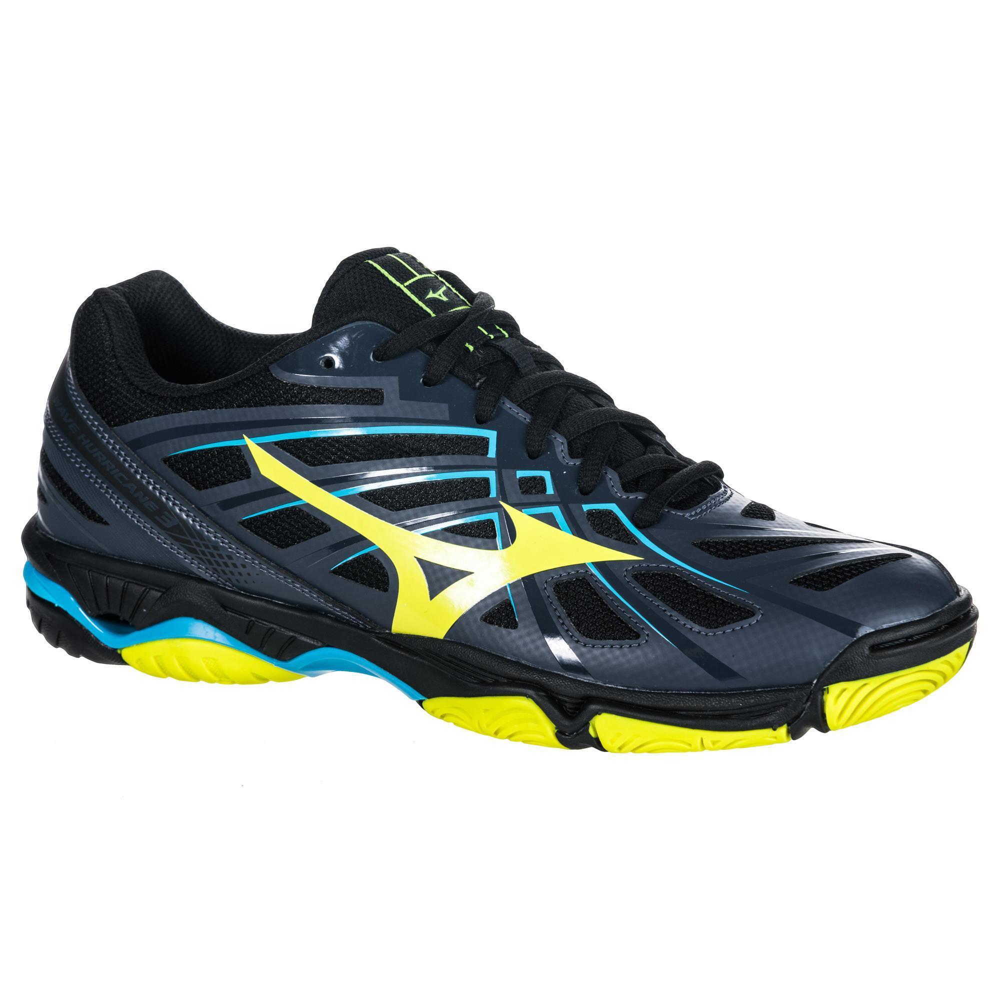 Mizuno Volleybalschoenen heren Wave Hurricane 3 zwart/geel