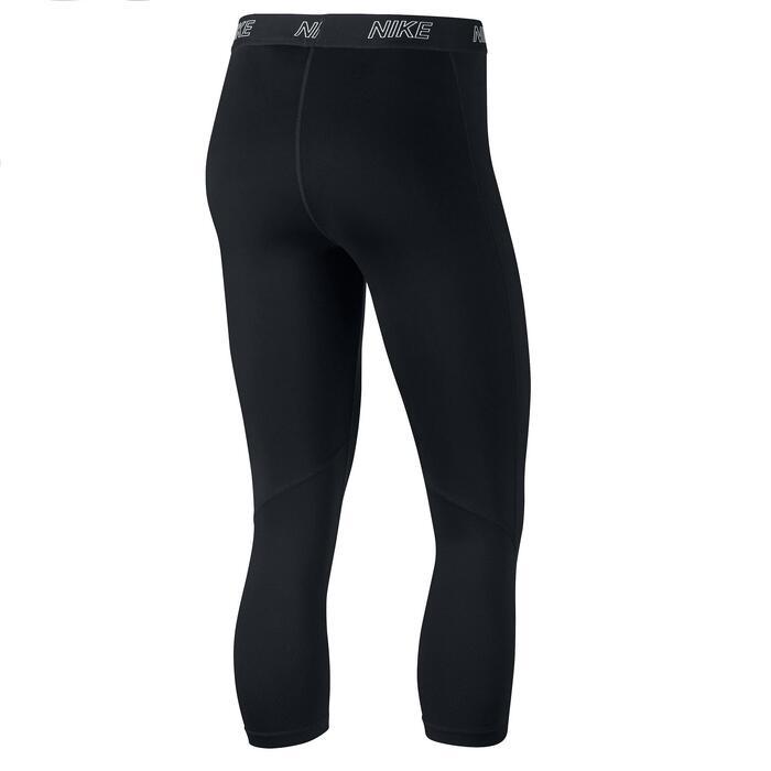 Corsaire fitness cardio-training femme noir - 1348185
