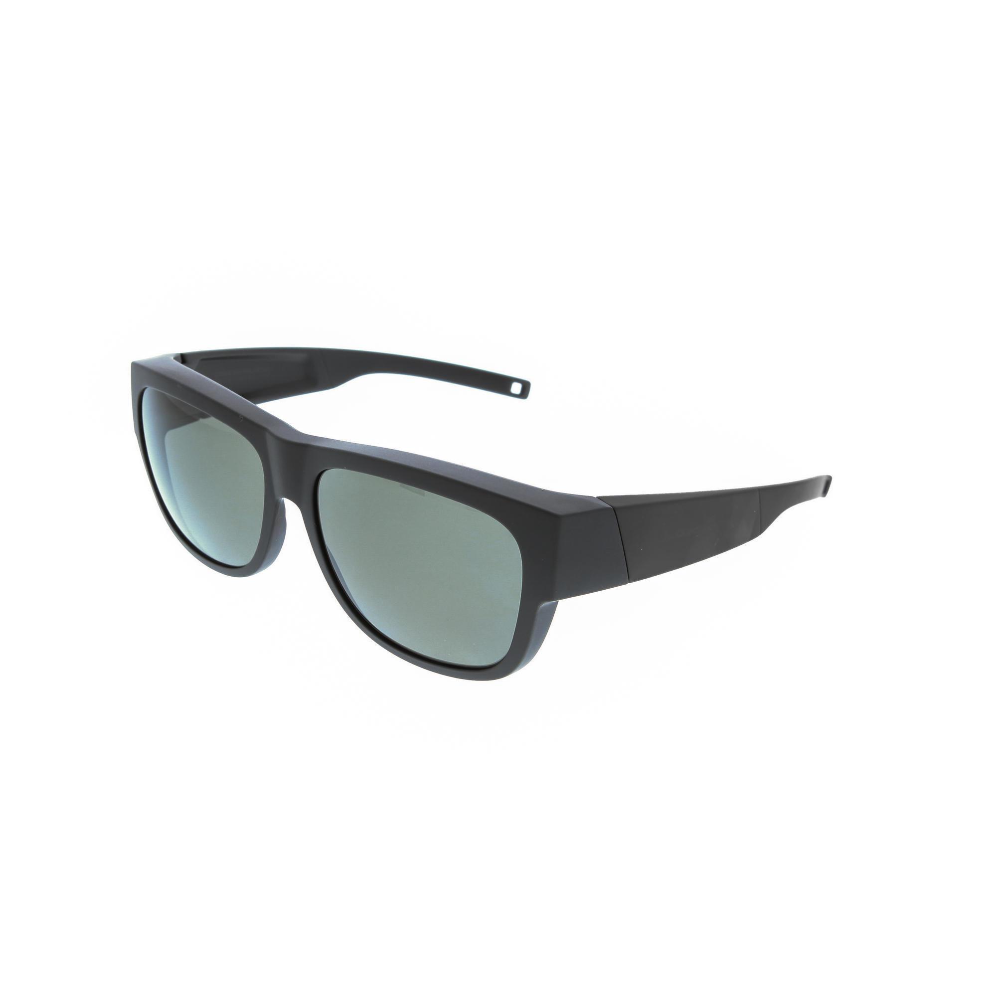 Überbrille MH 500 OTG polarisierende Gläser Kat. 3 schwarz   Uhren > Keramikuhren   Schwarz   Quechua
