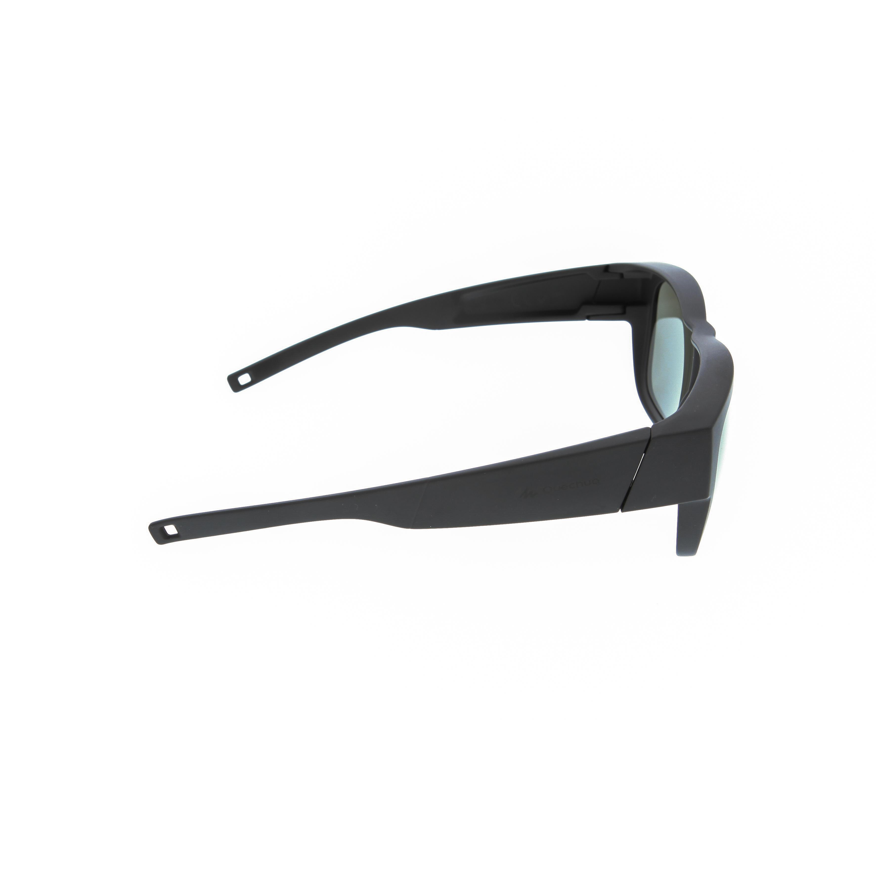 MH OTG 500 Category 3 Polarised Over-Glasses - Black
