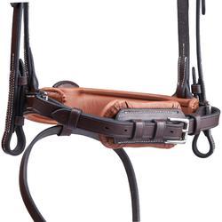 Hoofdstel ruitersport Pull Back bruin - maat paard