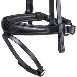 Trense Pull Back Leder Pferd schwarz