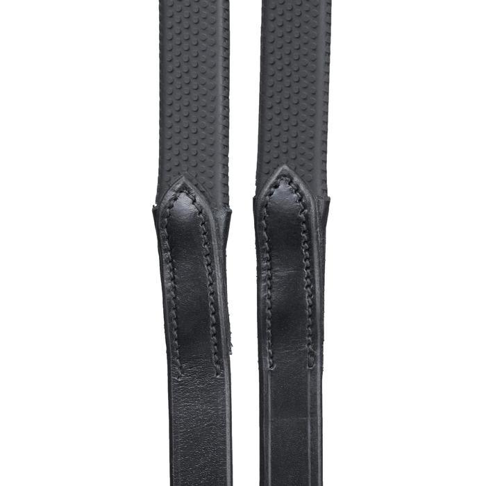 Teugels ruitersport 900 zwart maat voor paard - 1348340