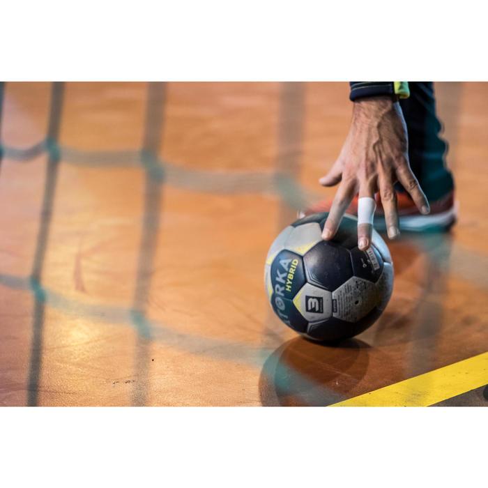 Ballon de handball hybride H500 Taille 2 rouge et - 1348378
