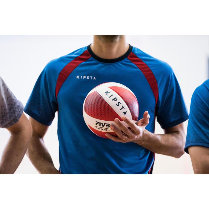 Maillot de volley-ball V500 homme bleu et - 1348405