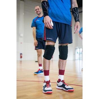 Shorts V500 Männer blau/rot