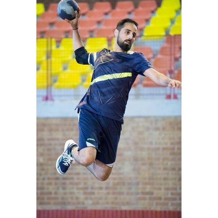 Ballon de handball hybride H500 Taille 2 rouge et - 1348433