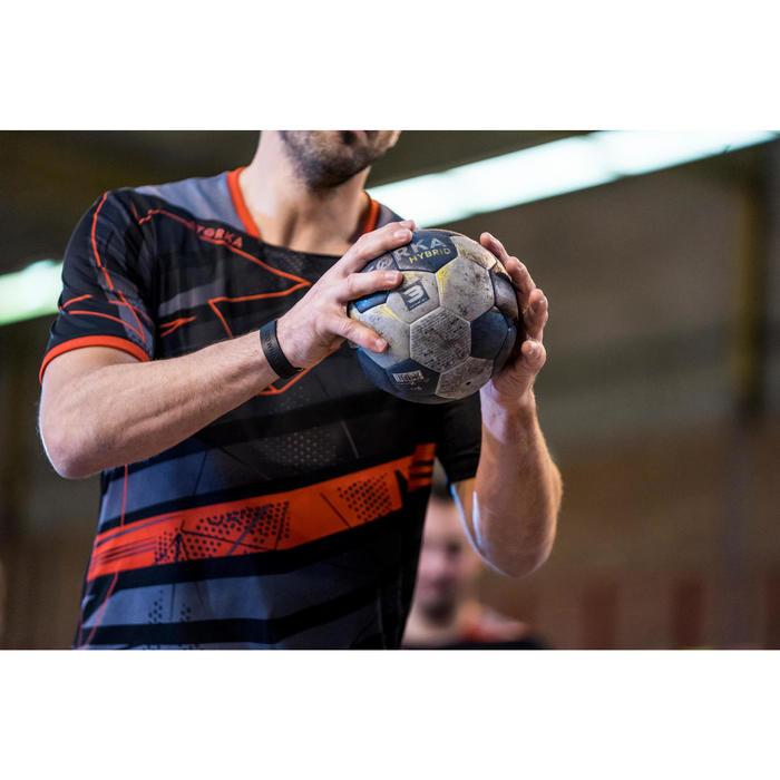 Ballon de handball hybride H500 Taille 2 rouge et - 1348437