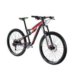 """Mountainbike 27,5"""" XC 100 S schwarz/rot"""