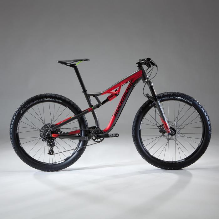 """VTT XC 100 S 27,5"""" PLUS noir et rouge - 1348477"""