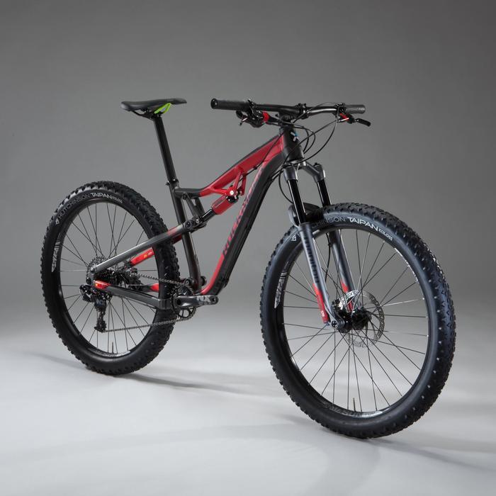 """VTT XC 100 S 27,5"""" PLUS noir et rouge - 1348483"""