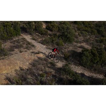 """Mountainbike XC 100 S 27,5"""" schwarz/rot"""