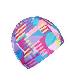 印花網眼泳帽 尺寸 S - AllSia 粉紅色