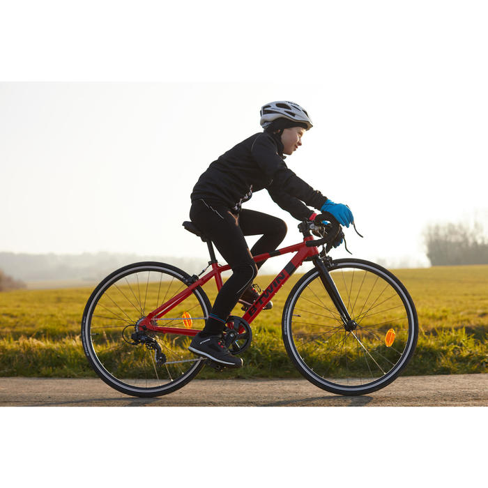Fahrradjacke Kinder 500 schwarz