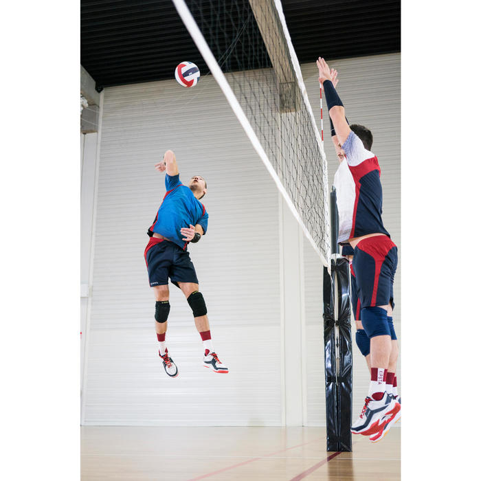 Genouillères de volley-ball V500 bleu marine