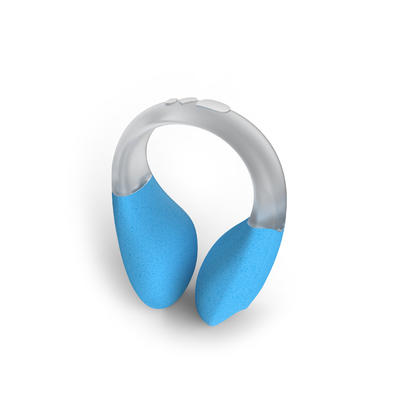 FLOATING SWIMMING NOSE CLIP - CYAN BLUE