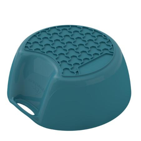 MH100 Plastic Hiking Camping Bowl (0.45 L) - Blue