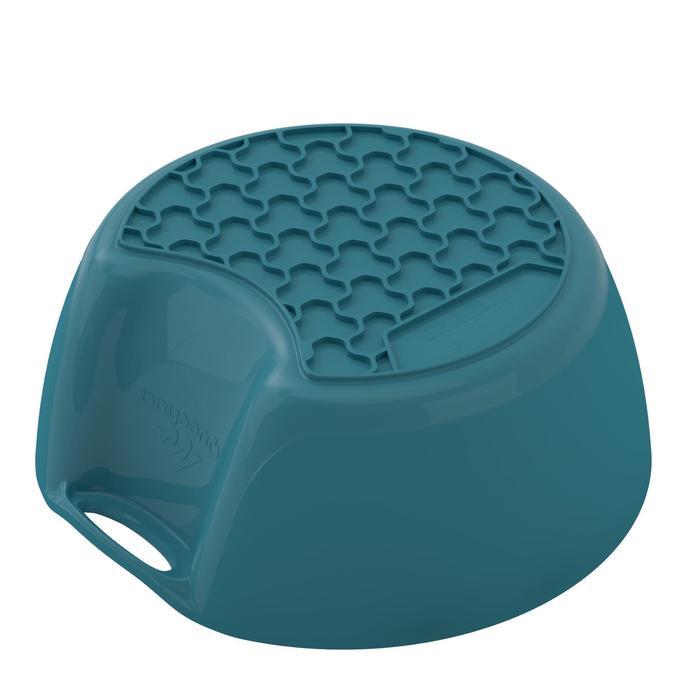 Bol camp du randonneur MH100 plastique bleu (0,45 litre) - 1348746