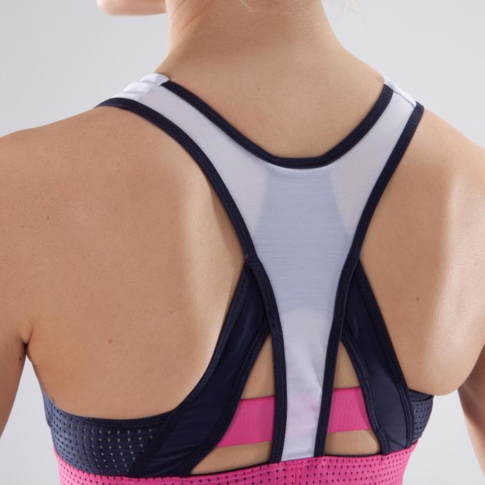 Brassière fitness cardio-training femme noire 900 - 1349176