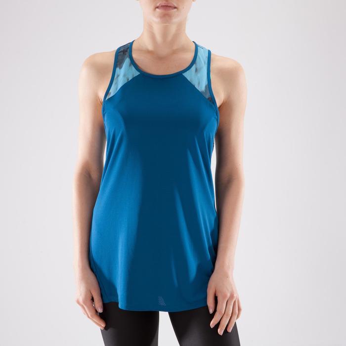 Débardeur fitness cardio femme 500 Domyos - 1349181