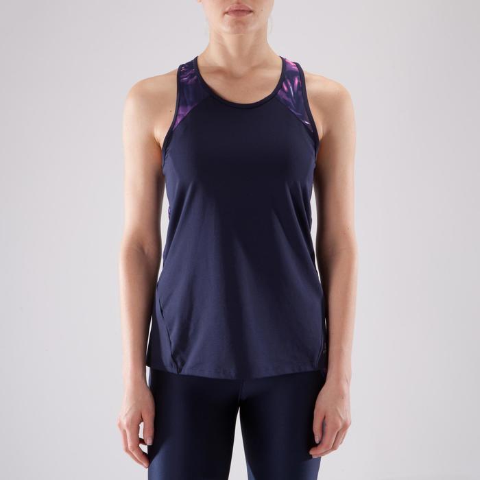 Débardeur fitness cardio femme 500 Domyos - 1349201