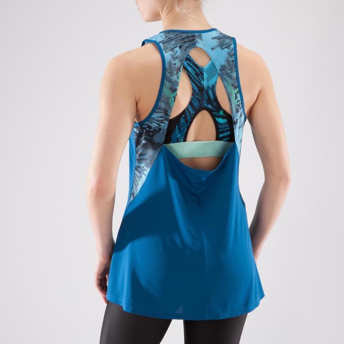 Débardeur fitness cardio femme 500 Domyos - 1349205