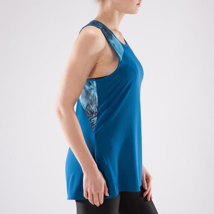 Débardeur fitness cardio femme 500 Domyos - 1349212