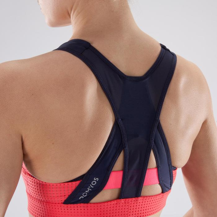 Brassière fitness cardio-training femme noire 900 - 1349216