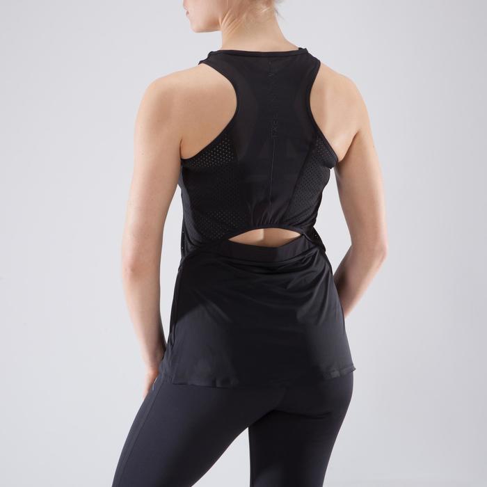 Débardeur fitness cardio femme 900 Domyos - 1349217