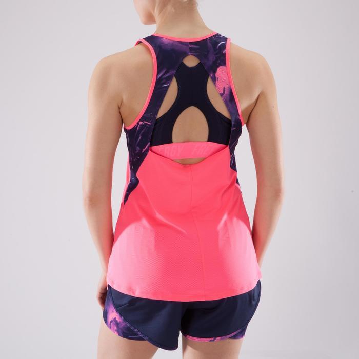 Débardeur fitness cardio femme 500 Domyos - 1349228