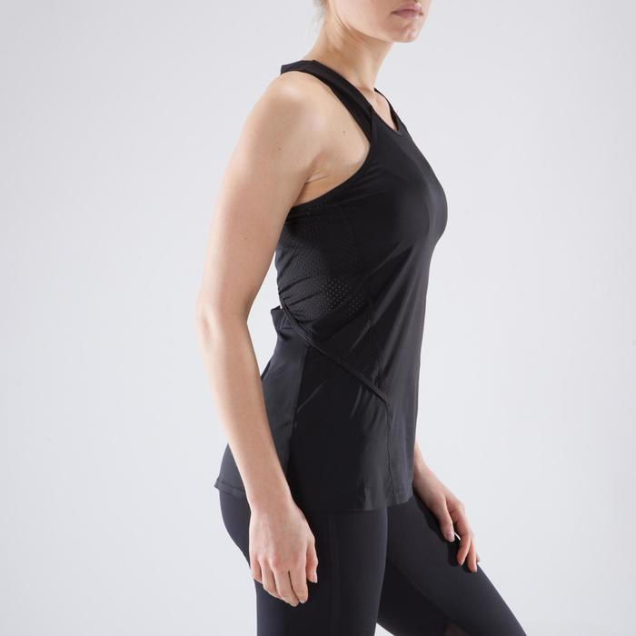 Débardeur fitness cardio femme 900 Domyos - 1349277