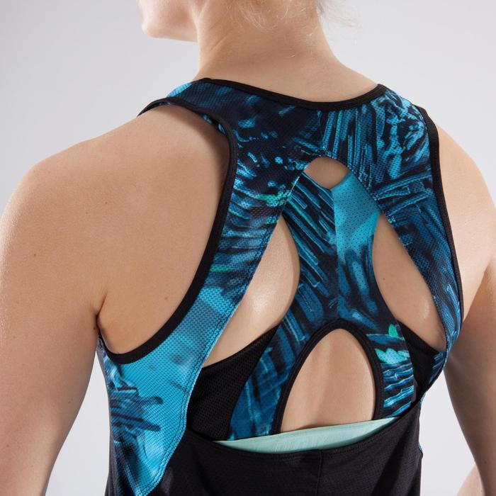 Débardeur fitness cardio femme 500 Domyos - 1349293
