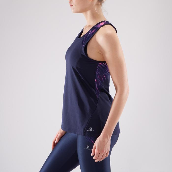 Débardeur fitness cardio femme 500 Domyos - 1349305