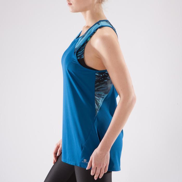 Débardeur fitness cardio femme 500 Domyos - 1349350