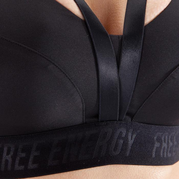 520 Women's Cardio Fitness Sports Bra - Black