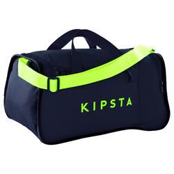 Kipocket Team Sports Bag 20 Litres - Blue/Neon Yellow