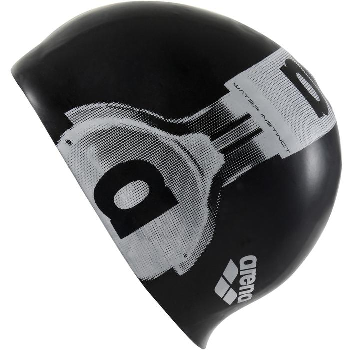 Gorro silicona Poolish Headphone negro