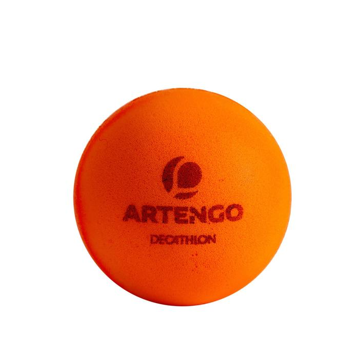 BALLES DE TENNIS DE TABLE MOUSSE PPB 100 SILENT X 6 ORANGE - 1349511