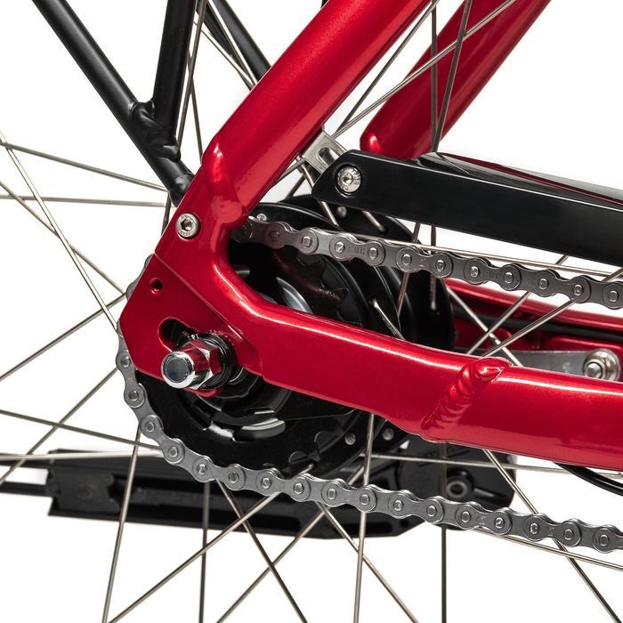 """E-Bike 28"""" Riverside City Nexus 8 RT Active 400Wh rot"""