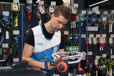 Tennis Racket Stringing Service
