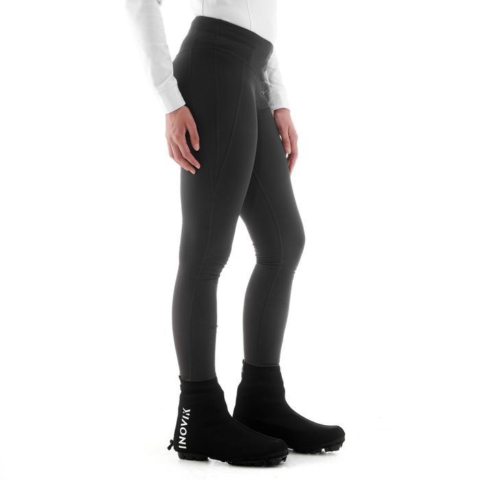 Langlaufhose Tights XC S 100 Damen schwarz