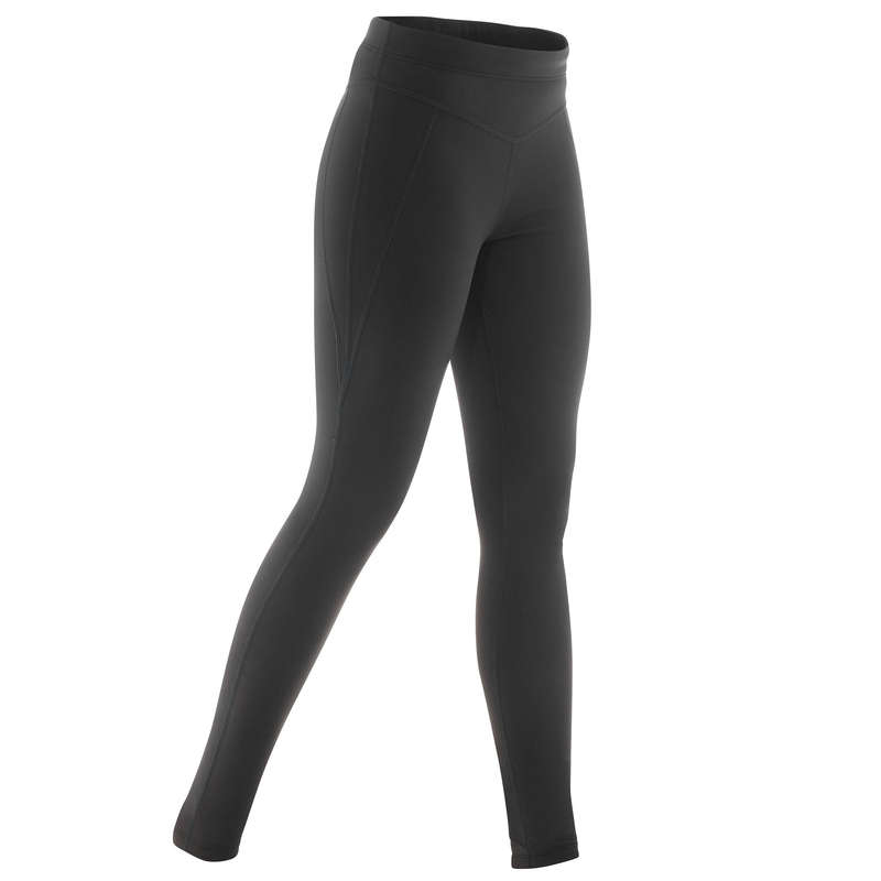 ADULT CROSS COUNTRY CLOTHING Cross-Country Skiing - 100 W XC S LEGGINGS - BLACK INOVIK - Cross-Country Skiing