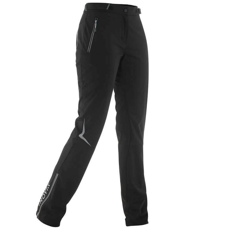 ADULT CROSS COUNTRY CLOTHING - 500 WOMEN'S XC S PANT - BLACK INOVIK