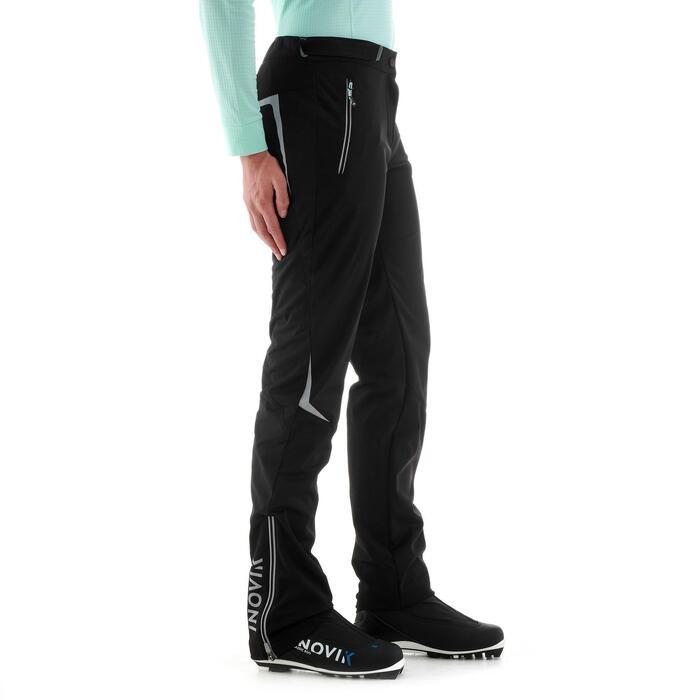 Langlaufbroek voor dames XC S PANT 500 zwart