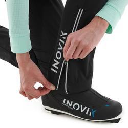 Pantalon de ski de fond femme XC S PANT 500 noir