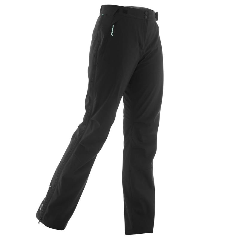 Surpantalon de ski de fond noir XC S OVERP 150 FEMME