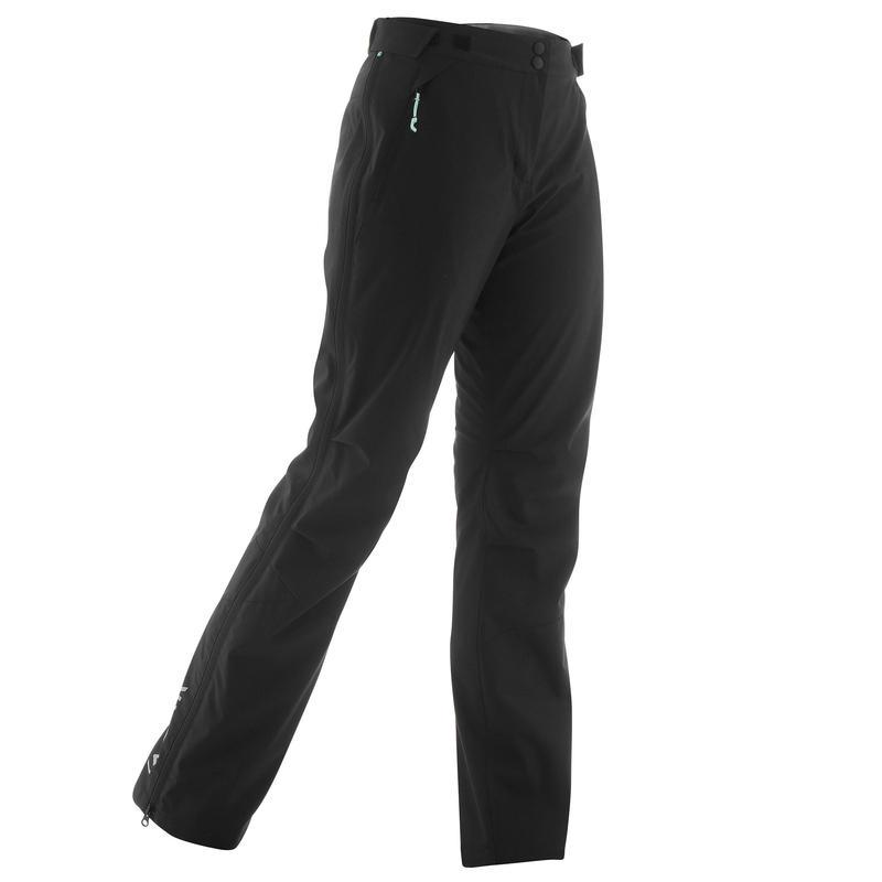 Surpantalon de ski de fond femme XC S SURPANTALON 150 noir