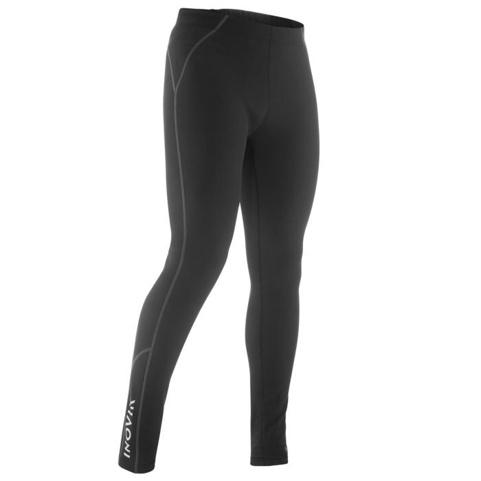 Collant chaud de ski de fond noir XC S TIGHT 100 homme